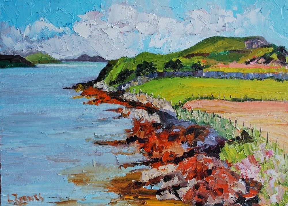 """View from the Boathouse"" original fine art by Liz Zornes"