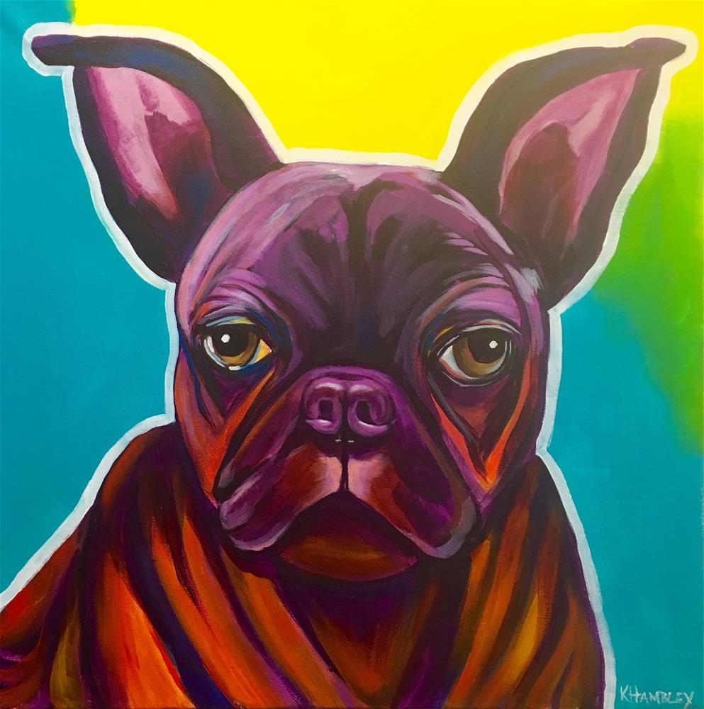 """Miss Maggie"" original fine art by Katherine Hambley"