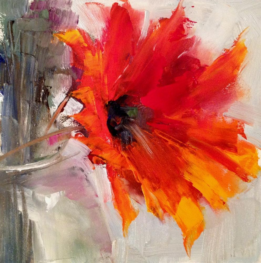 """""""Sunday Showoff"""" original fine art by Ann Feldman"""