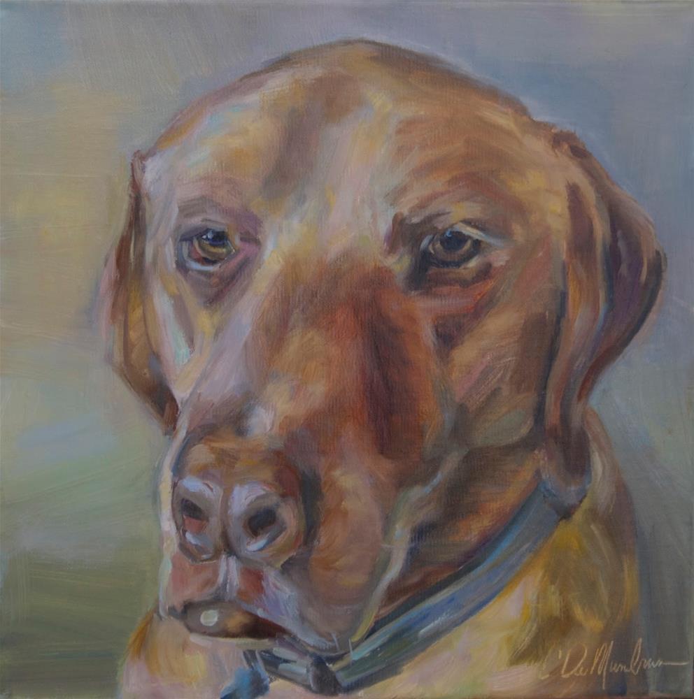 """Bear- Pet portrait, Carol DeMumbrum"" original fine art by Carol DeMumbrum"