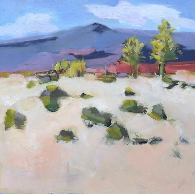 """""""looking north"""" original fine art by Belinda Bell"""