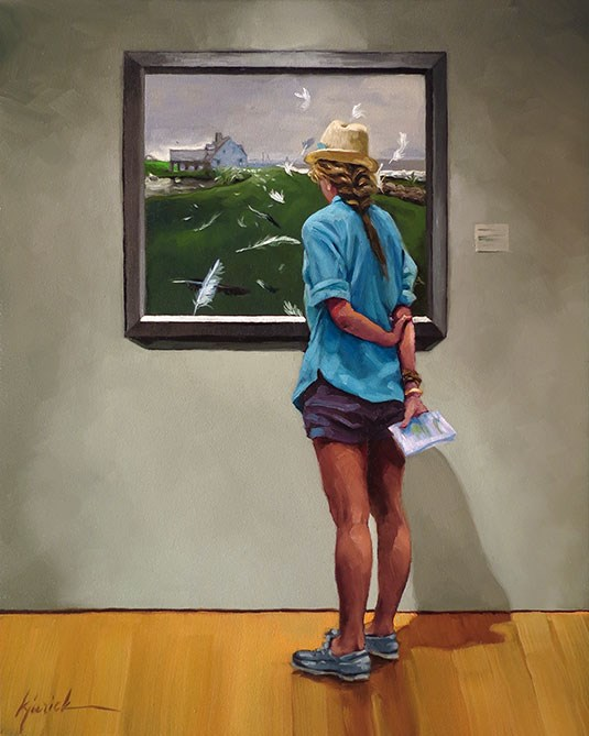 """Easy Breezy"" original fine art by Karin Jurick"