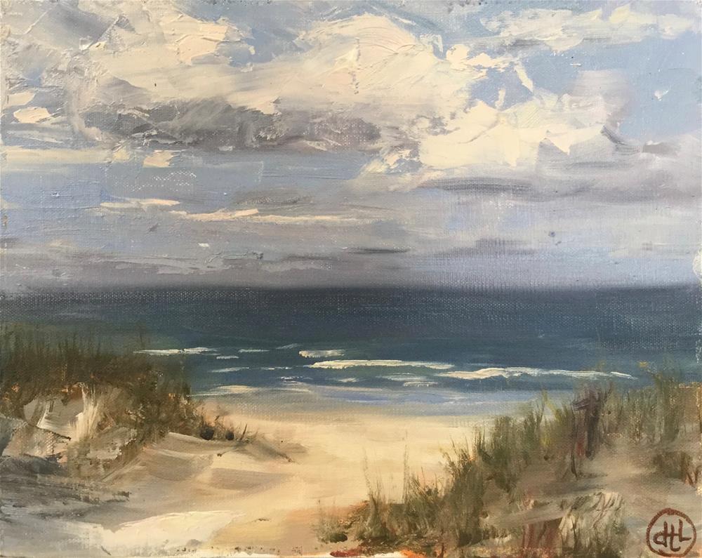 """on Wrightsville"" original fine art by Dottie  T  Leatherwood"