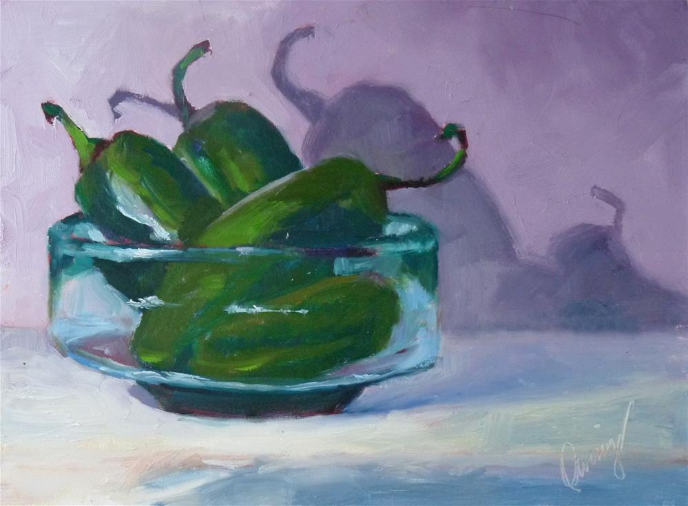 """Bring the Heat"" original fine art by Sharman Owings"