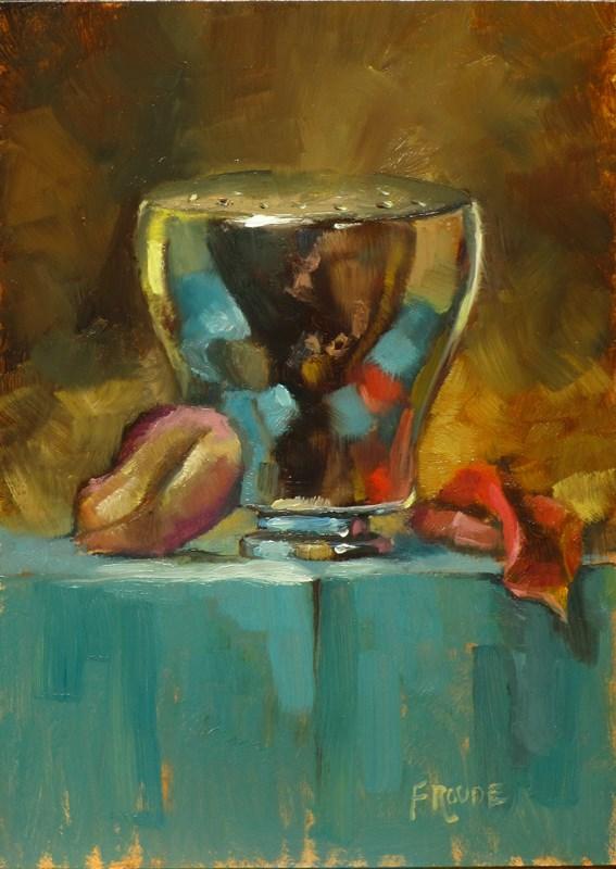 """Shower head"" original fine art by Dave Froude"
