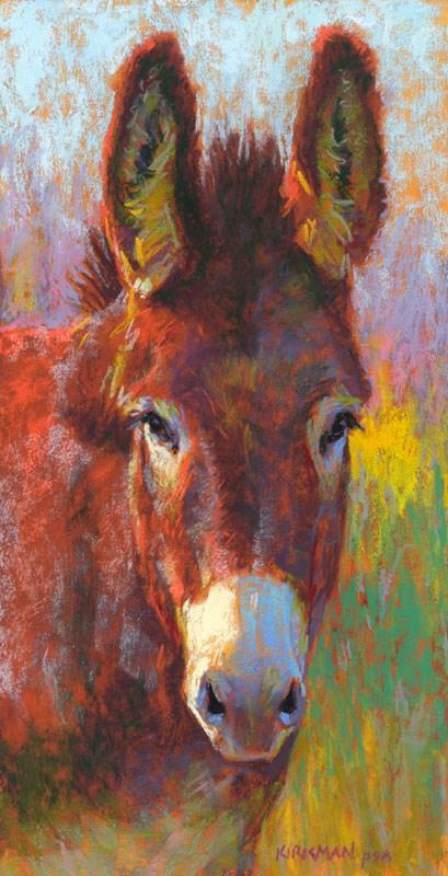 """Donna Keira"" original fine art by Rita Kirkman"
