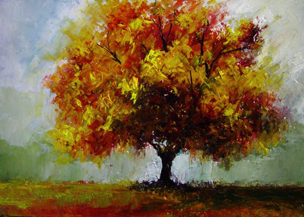 """Autumn Colors"" original fine art by Bob Kimball"