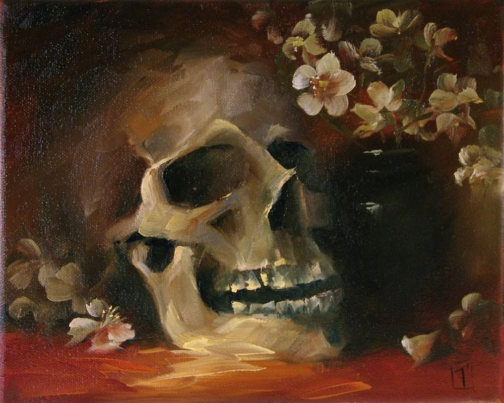 """Boris - Hot Romance"" original fine art by Lori Twiggs"