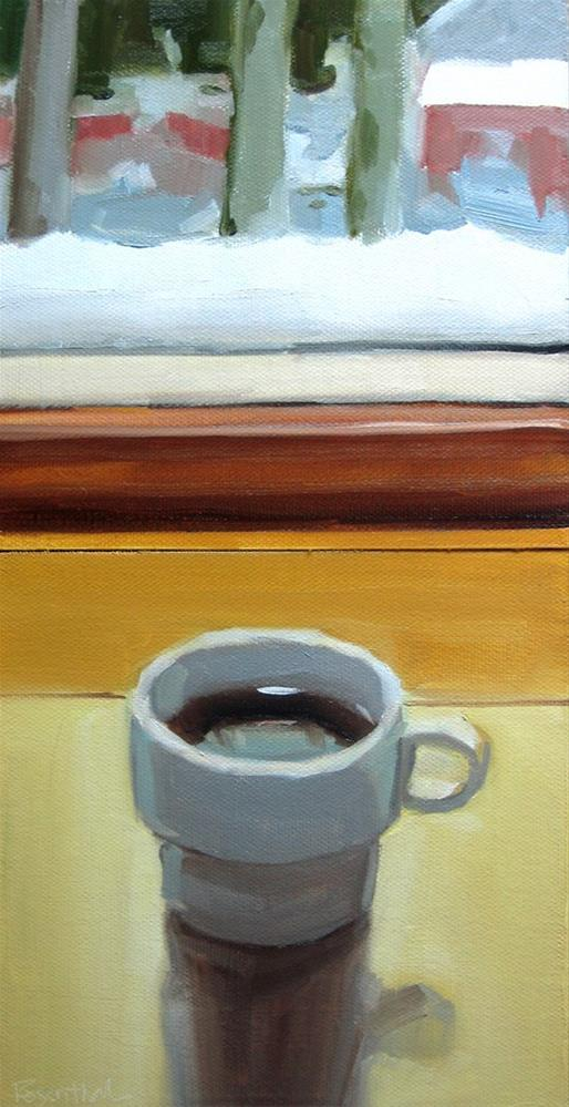 """Morning Joe"" original fine art by Robin Rosenthal"