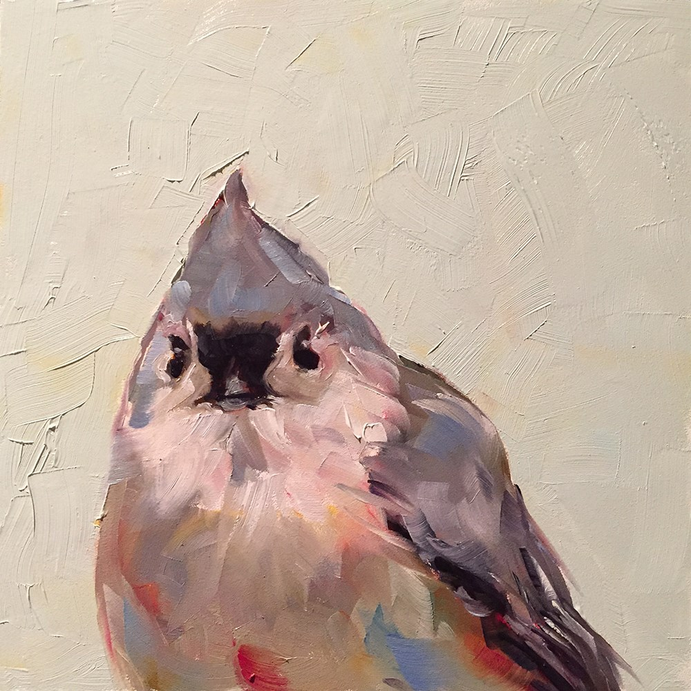 """tufted titmouse"" original fine art by Kim Smith"
