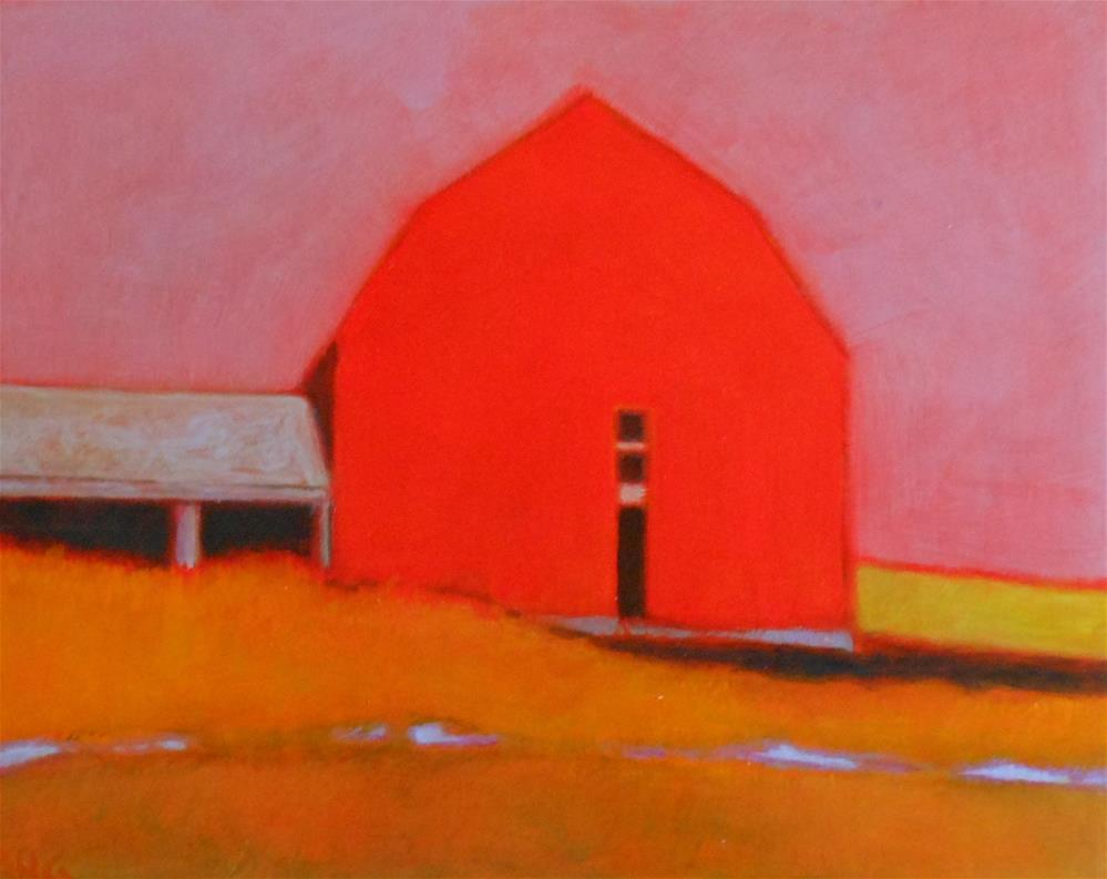 """Gambrel"" original fine art by Almira Hill Grammer"
