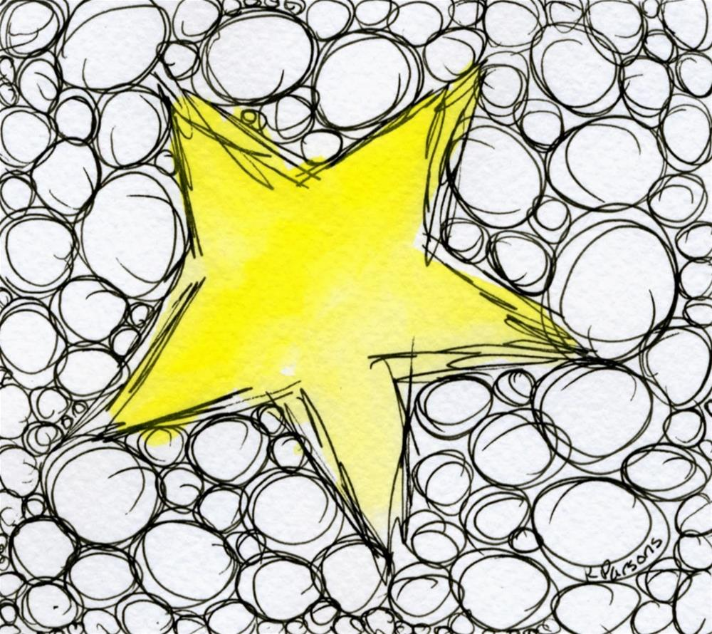 """Super Star"" original fine art by Kali Parsons"