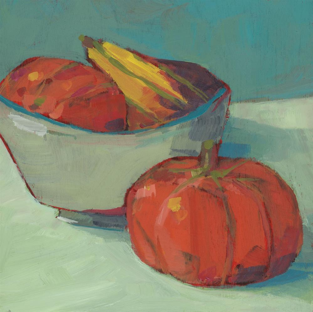 """0925: Good Gourds"" original fine art by Brian Miller"