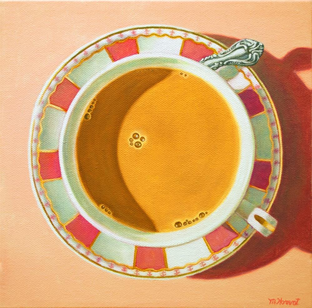 """""""Bubble Meditation"""" original fine art by Margaret Horvat"""