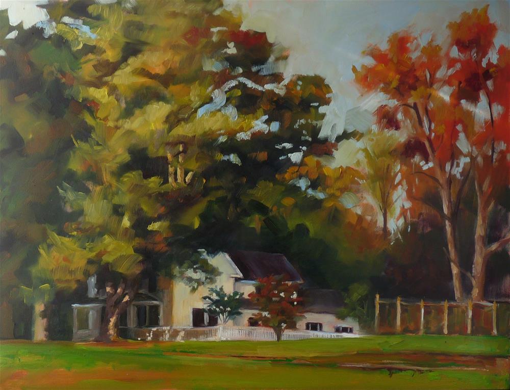 """""""Home Again, Home Again"""" original fine art by Sharman Owings"""