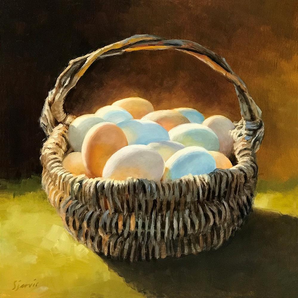 """Country Colors"" original fine art by Susan N Jarvis"