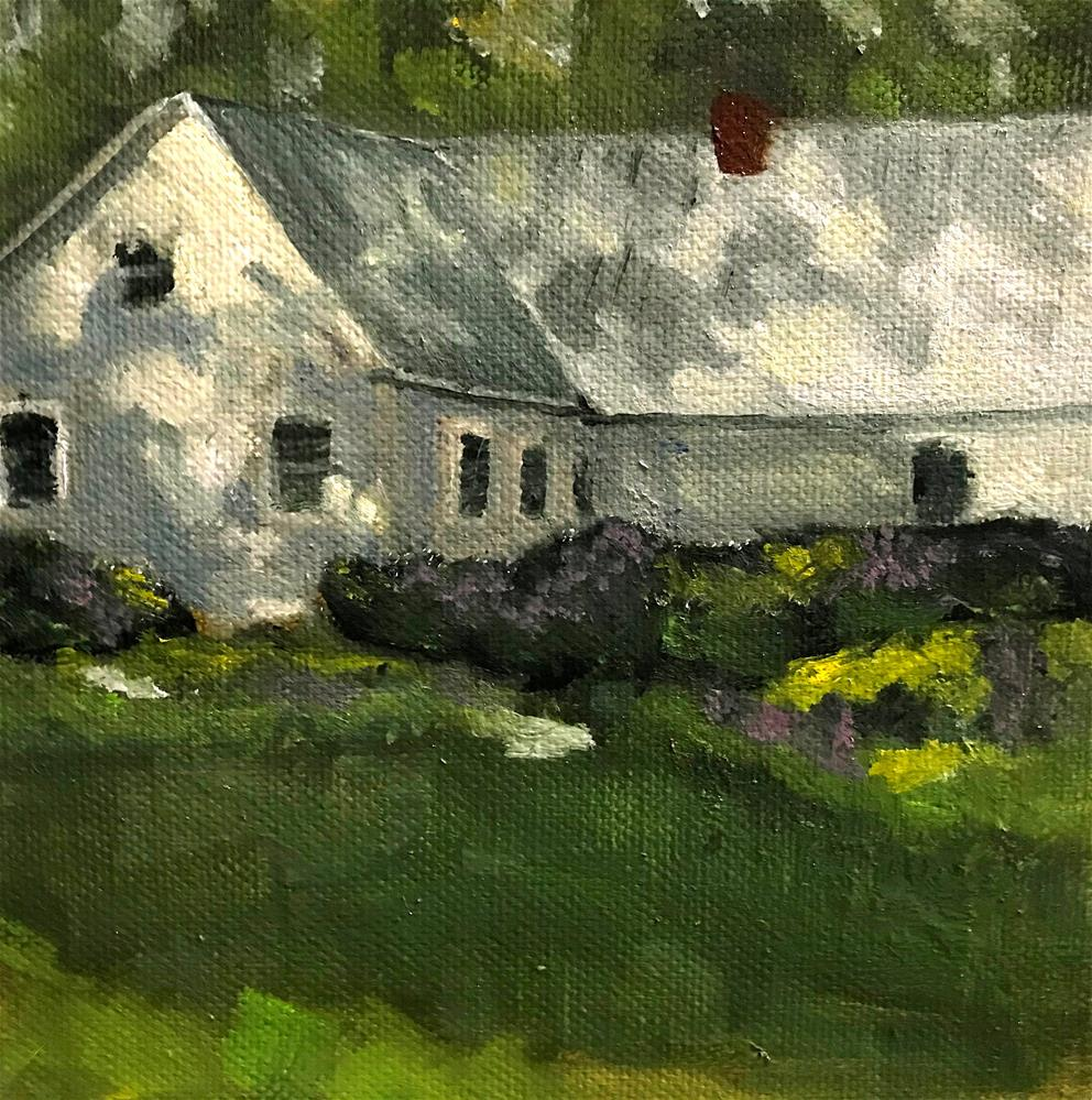 """house on Landgrove Rd. in Londonderry Vt."" original fine art by Betty Argiros"