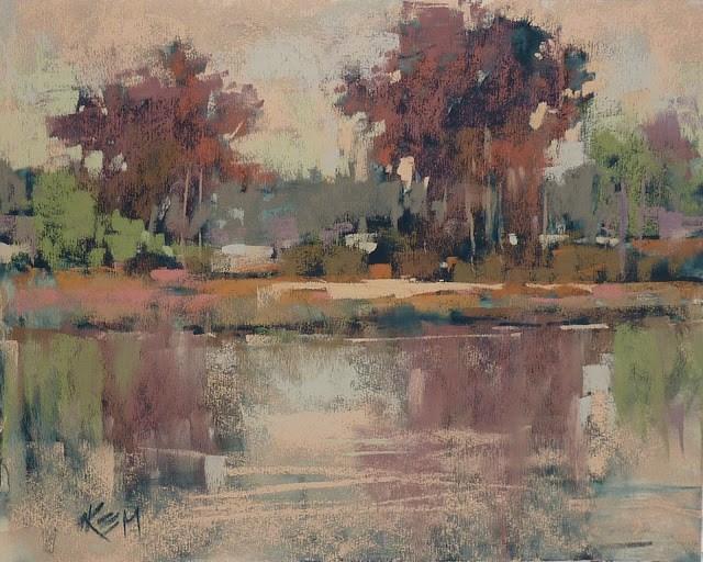 """A Must Have Pastel Set for Autumn Landscapes"" original fine art by Karen Margulis"