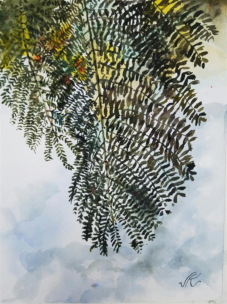 """Name That Locust"" original fine art by Jean Krueger"
