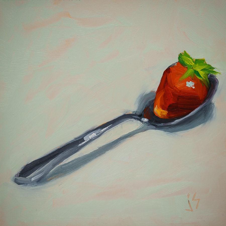 """Spoonful of Summer"" original fine art by Johnna Schelling"