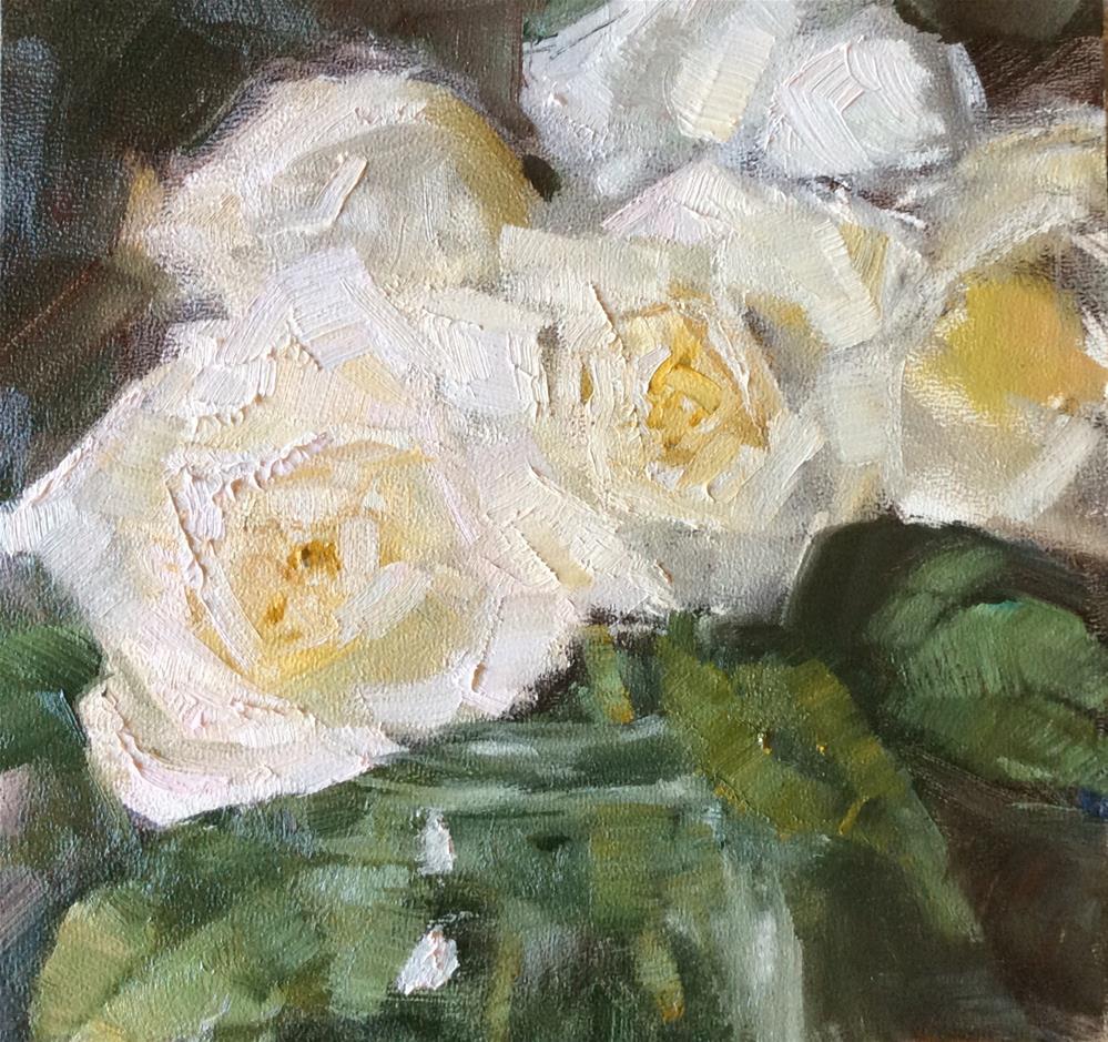 """Roses"" original fine art by Carol Josefiak"
