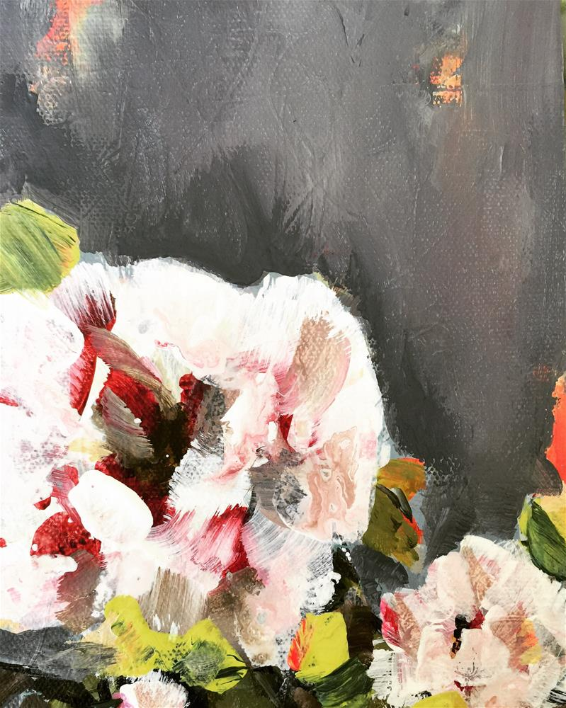 """Peonies"" original fine art by Jenny Doh"