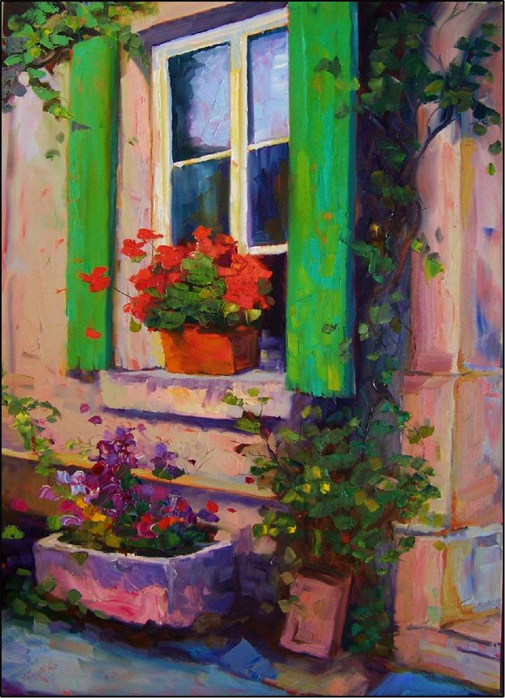 """""""Bellissima Morning,35x25, oil on gallery-wrapped canvas"""" original fine art by Maryanne Jacobsen"""