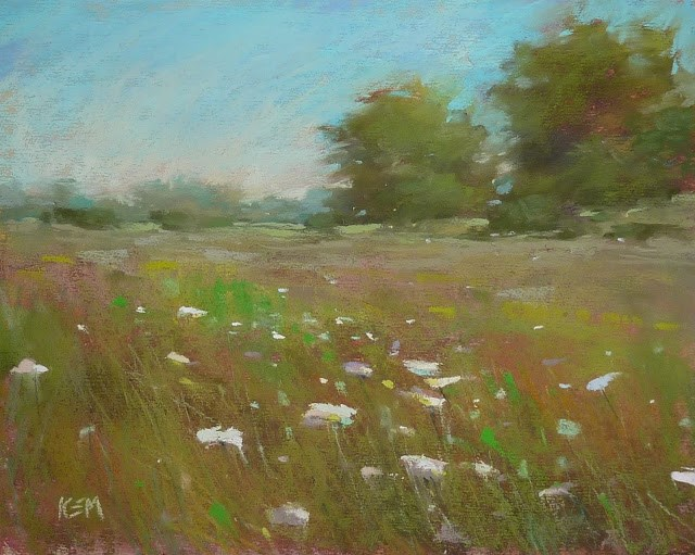 """How to Craft Inspiring Painting Titles"" original fine art by Karen Margulis"