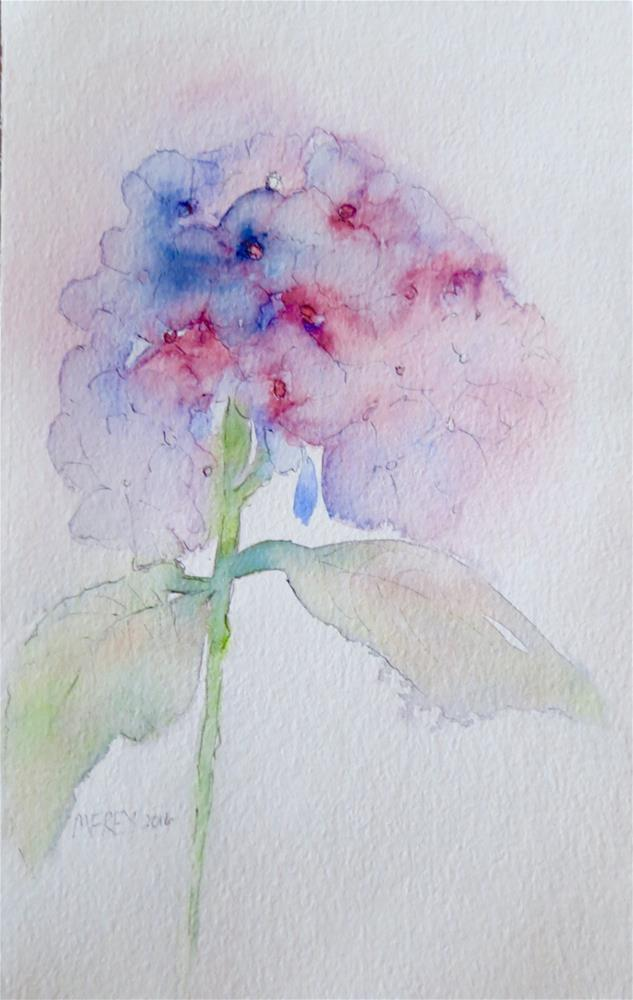 """Floral 0143"" original fine art by Michelina Frey"