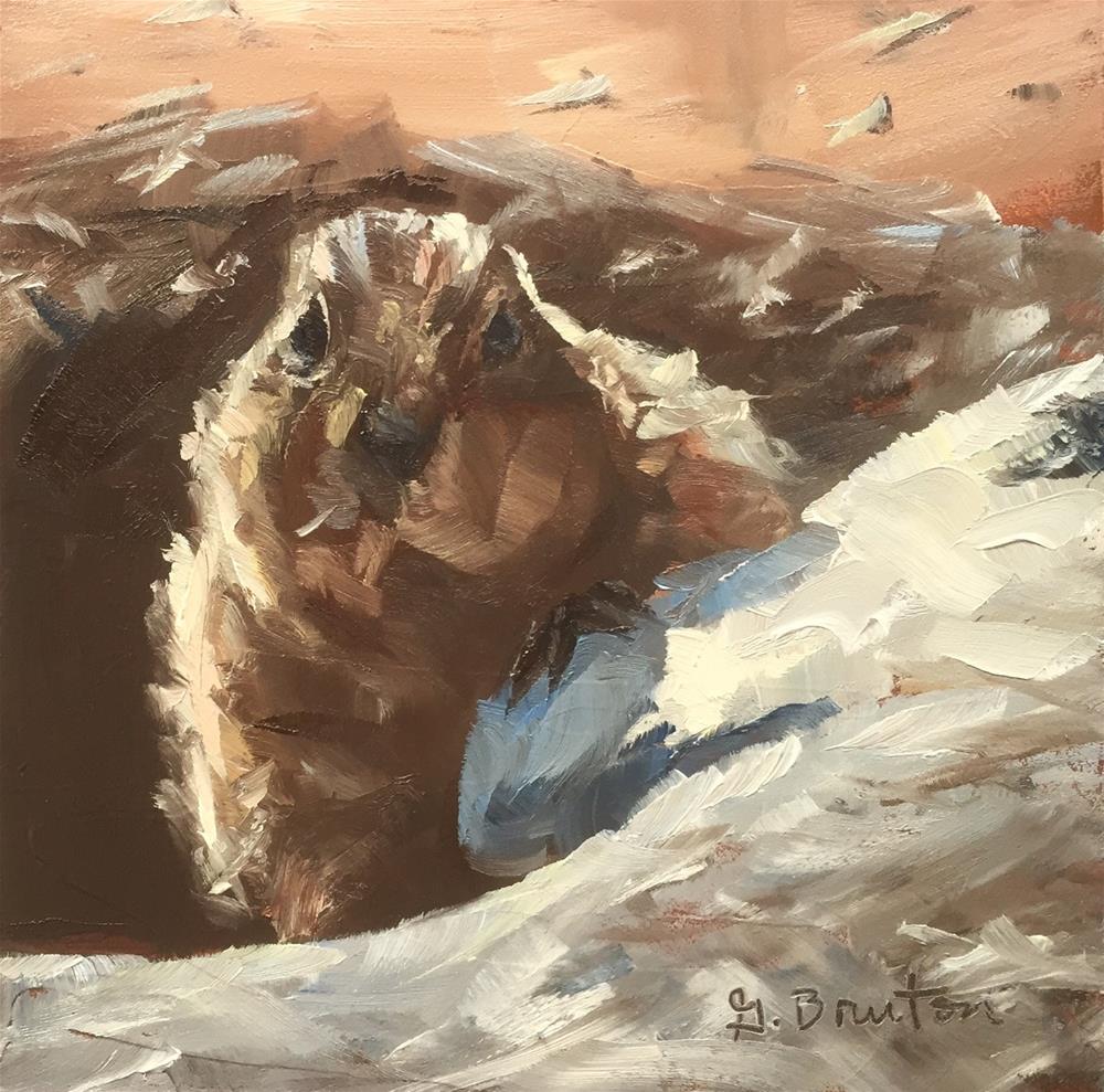 """""""Casting Shadows"""" original fine art by Gary Bruton"""