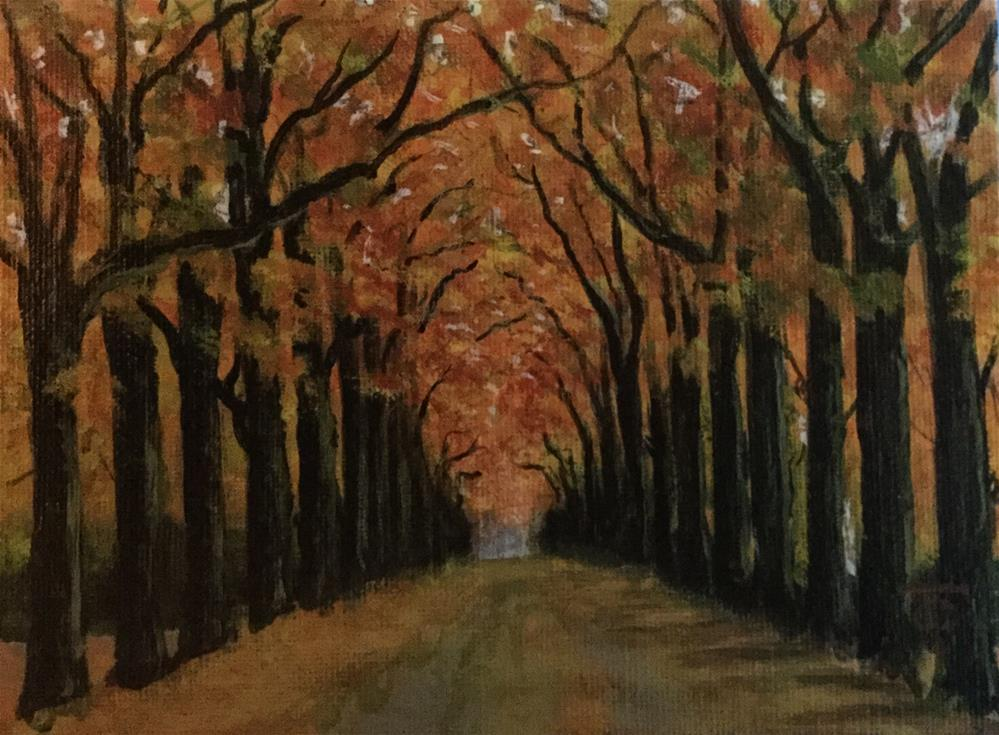 """Grand Entrance"" original fine art by T.C. Poole"