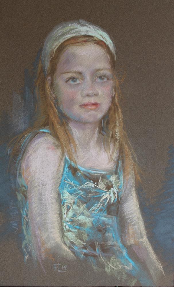 """Aino"" original fine art by Emilia Leinonen"