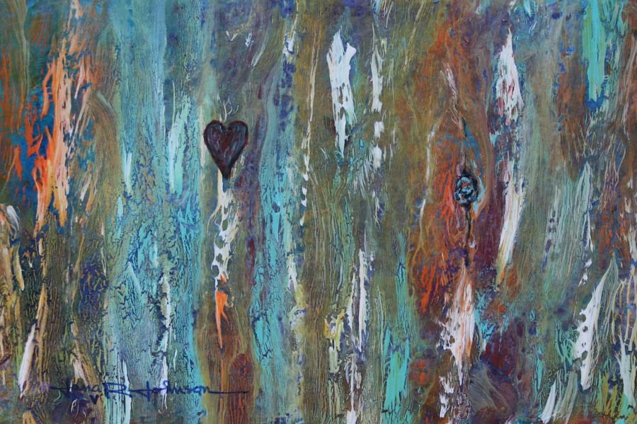 """""""Forever"""" original fine art by Jana Johnson"""