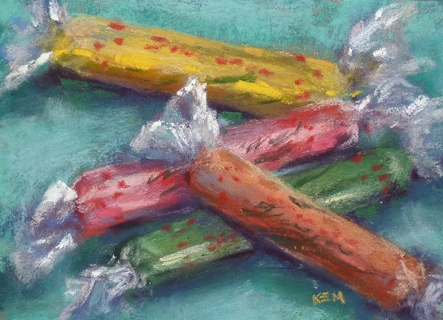 """A System for Storing Finished Pastels"" original fine art by Karen Margulis"