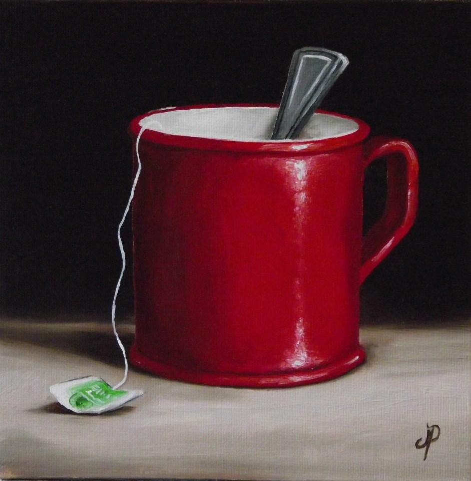 """Mug of Tea #2"" original fine art by Jane Palmer"