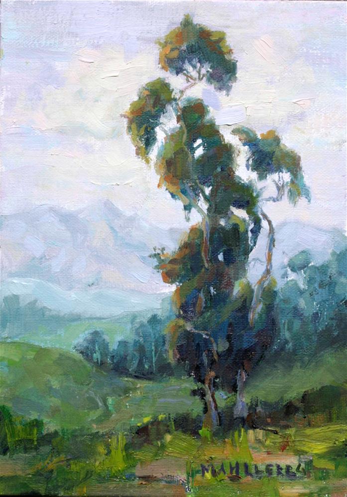 """Eucalyptus Queen"" original fine art by Cynthia Mahlberg"