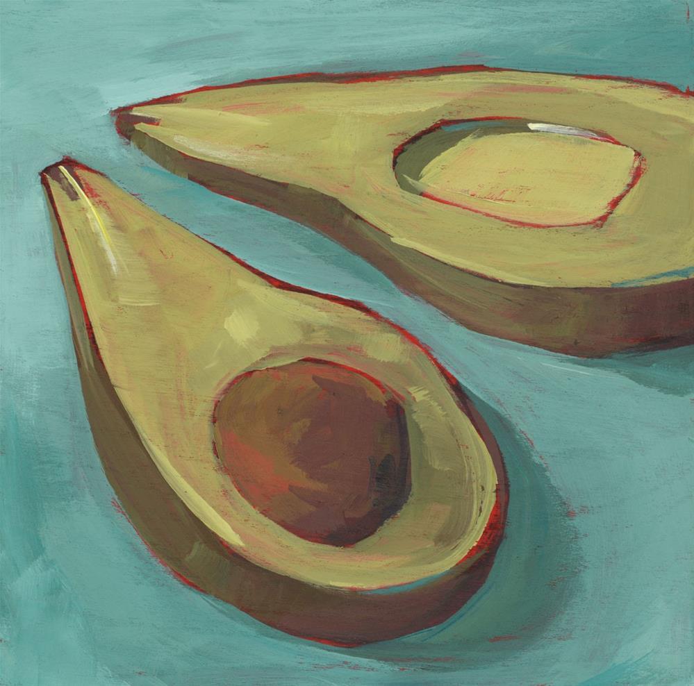 """1002: My Sister Loves Avocados"" original fine art by Brian Miller"
