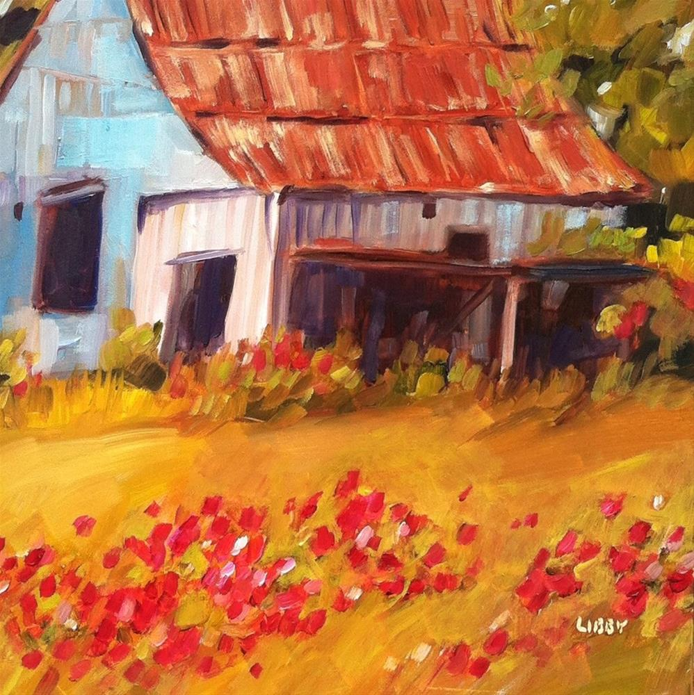 """""""Barely there"""" original fine art by Libby Anderson"""