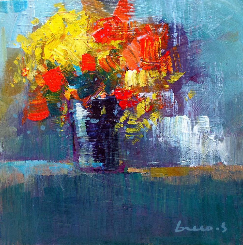 """Flowers"" original fine art by salvatore greco"