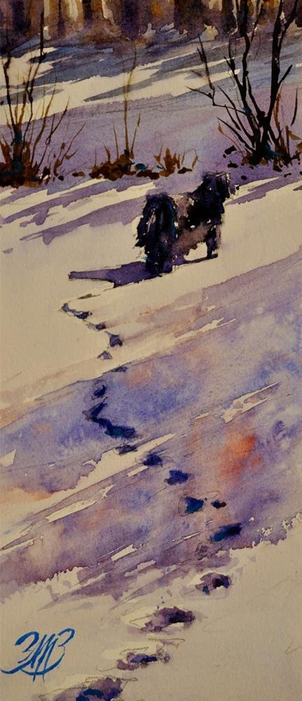 """""""Wanderings"""" original fine art by Brienne M Brown"""