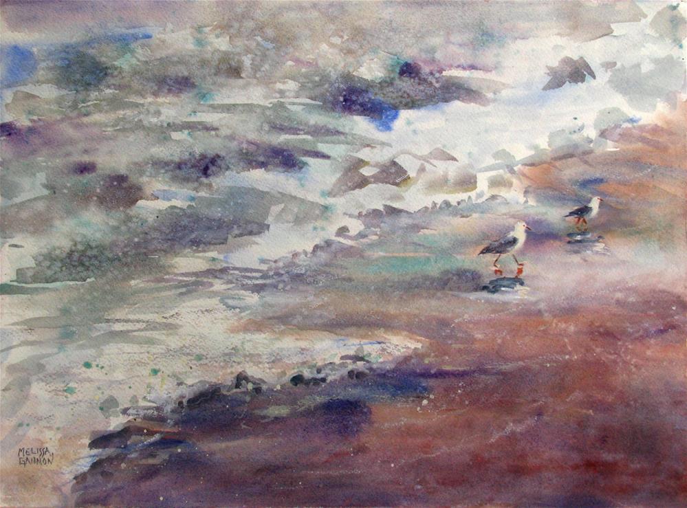 """""""Ocean Wild"""" original fine art by Melissa Gannon"""
