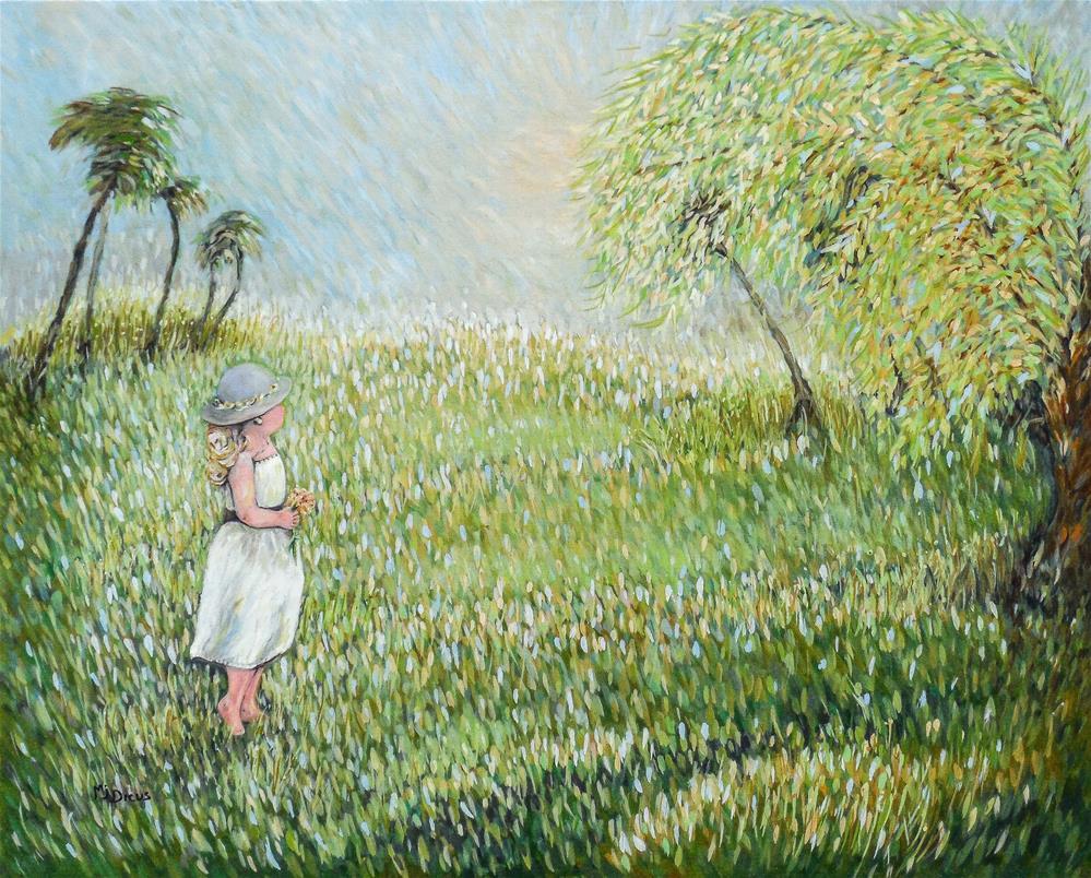 """Summer Joy"" original fine art by Mj Dicus"