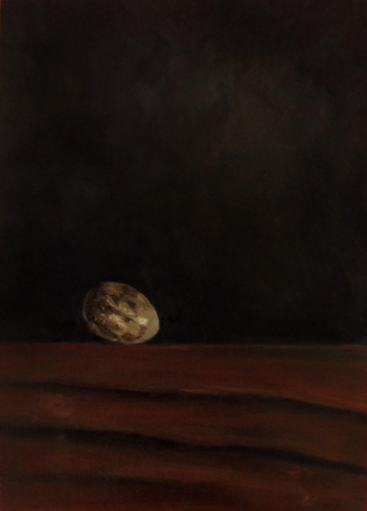 """Flycatcher Egg"" original fine art by Ulrike Miesen-Schuermann"