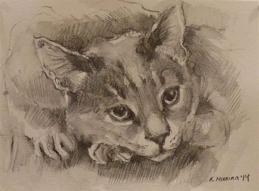 """adopt61"" original fine art by Katya Minkina"
