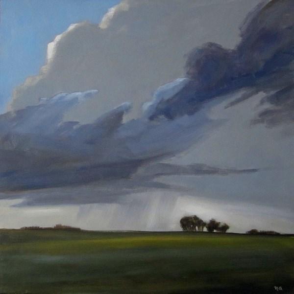 """Moody Prairie"" original fine art by Nicki Ault"
