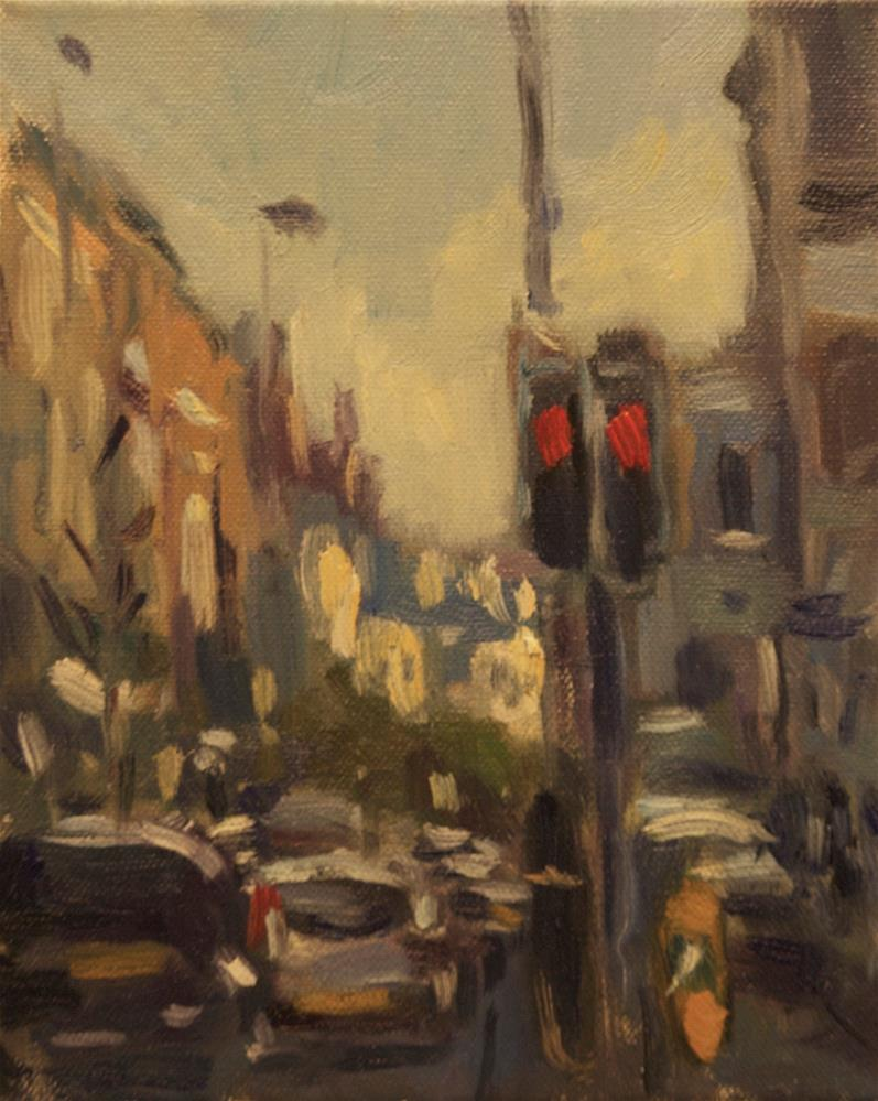 """Chapel Road, Worthing"" original fine art by Andre Pallat"
