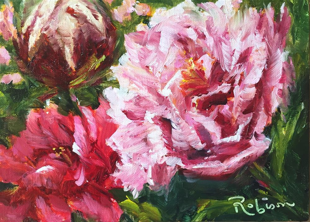 """Pretty in Pink"" original fine art by Renee Robison"