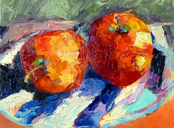 """Two for the Gala, 13007)"" original fine art by Nancy Standlee"
