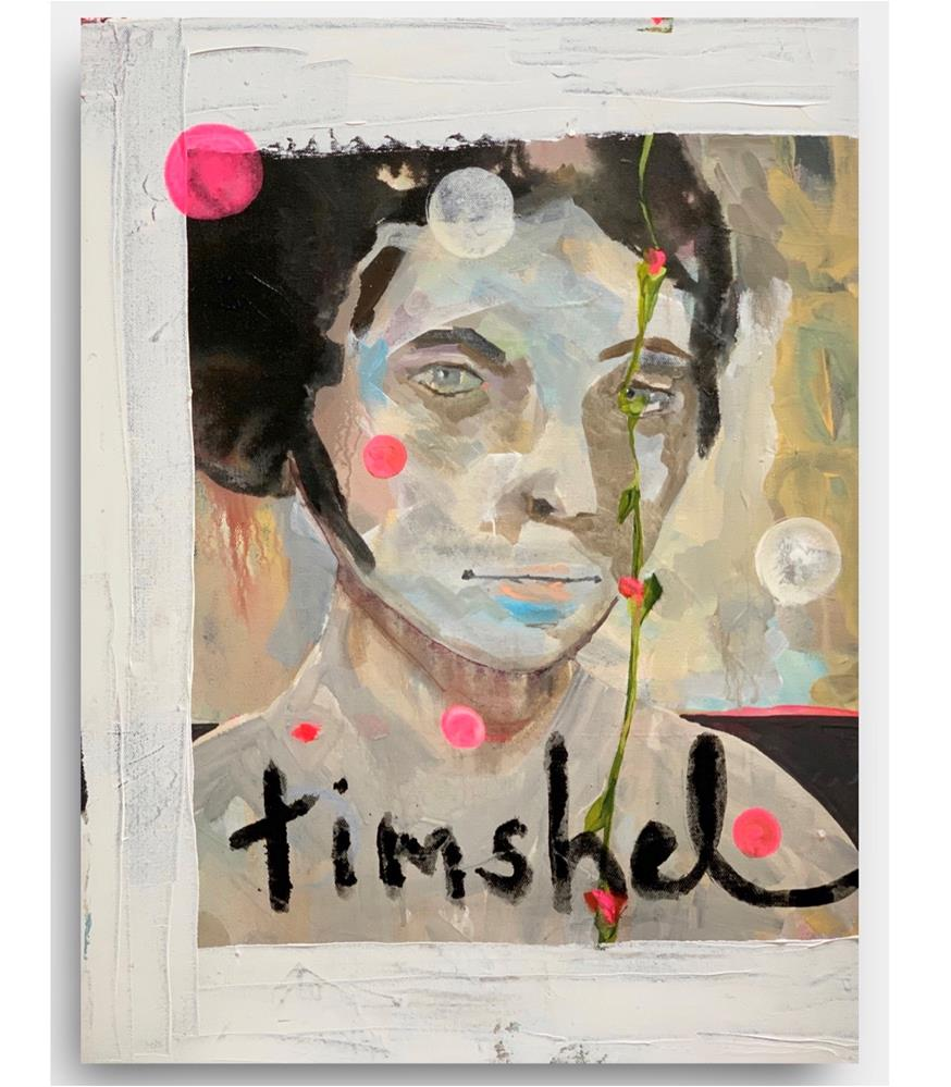"""811 Timshel"" original fine art by Jenny Doh"
