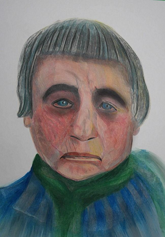 """Agnes Martin"" original fine art by Terri Brown-Davidson"